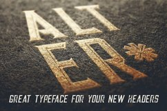 Alter - Vintage Style Font Product Image 3