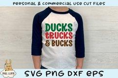 Ducks Trucks & Bucks Grunge Distress SVG Product Image 3