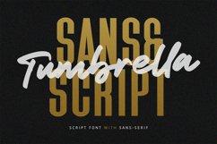 Tumbrella - Script Sans Font Duo Product Image 1
