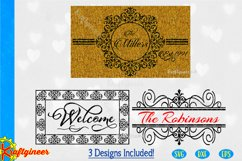 Welcome Mat N Signs SVG | Farmhouse SVG Product Image 1