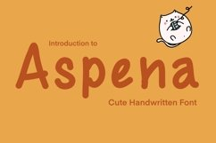 Cute Handwritten - Aspena Product Image 1