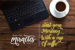 Web Font Miractes script Product Image 5