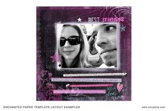 Enchanted Paper Template Overlays Product Image 3