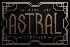 Astral Display Font Product Image 1