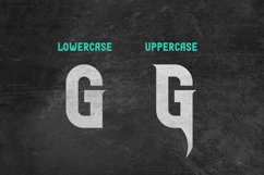 Glaive Typeface Product Image 4
