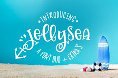 Jellysea - Font Duo  Summer Doodles Product Image 1