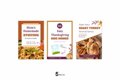 Thanksgiving Scroll Stopping Food Blogger Pinterest Pin Pack Product Image 2