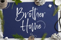 Brother Home Brush Font Product Image 1
