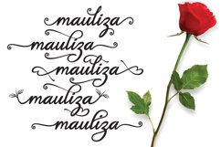 Hello Mauliza script Product Image 2