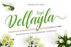 Dellayla Script Product Image 1