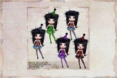 Michi 30 Cute Clown Clip Art, Journal, sublimation Product Image 1