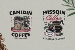 15 Coffee Vintage Badges Set Product Image 4