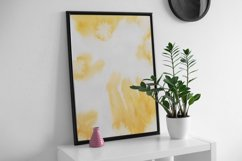 Abstract pattern Watercolor paint brush Mixed Media Art, Product Image 6