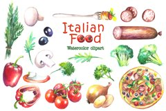 Food Watercolor Clip Art Product Image 3