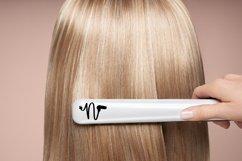 Hairdresser - Hair stylist - Monogram Font Product Image 3