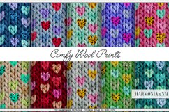 Comfy Wool Print 10 Fabric Textures Harmonia NM Product Image 1