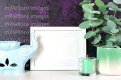 Frame Mockup Zen Décor Purple Background Mockup Styled Photo Product Image 2
