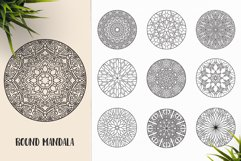 530 Vector Mandala Ornaments Bundle Product Image 26