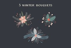 Christmas Wreaths And Bouquets - Winter Flowers And Plants Product Image 4