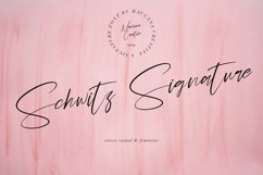 Schwitz Signature Sweet Casual Script Font Product Image 1