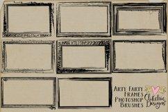 Doodle Frames & Photoshop Brushes - Arty Farty Frames Product Image 2