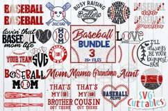 Baseball SVG Bundle 3 Product Image 1