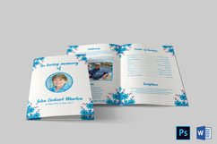 Funeral Program Template | Obituary Template Product Image 5