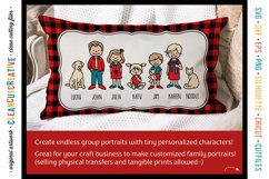 Photoshop FAMILY CLIPART custom portrait people graphics Product Image 3