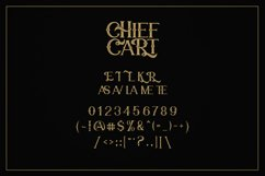 Chief Cart Vintage Typeface Product Image 4