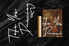 Web Font Batellya - A Stylish Signature Font Product Image 6