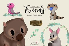 Australian Friends Clipart Collection 03 Product Image 1