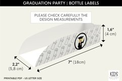 Graduation party Hot dog tray, class of 2021 printable decor Product Image 2