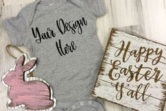 Easter Rabbit Skins 4400 Baby One Piece Mockup Photo Product Image 1
