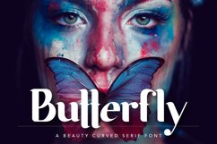 Butterfly Beauty Font Product Image 1