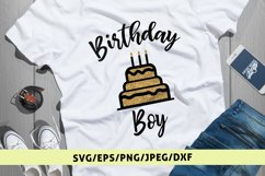 Happy Birthday Boy - Birthday SVG EPS DXF PNG Cutting Files Product Image 1