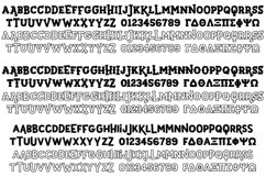 Sportsball - fun font with alternates! Product Image 2