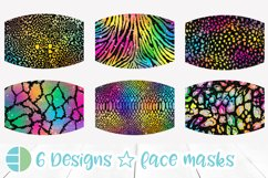 Face Mask Designs Sublimation Product Image 1