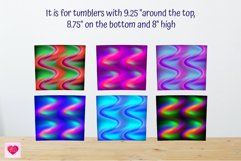 20 Oz Skinny Tumbler Straight And Tapered Neon Sublimation Product Image 2
