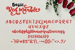 Red Marble || Beautiful Handwriting Product Image 2