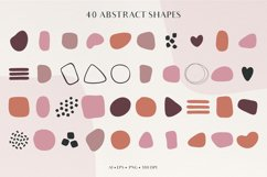 Abstract Shapes & Plants Set Product Image 2