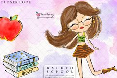 Back to School Teachers Clipart Pack   Drawberry CP014 Product Image 2