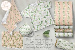 Narcissus Paper Pack. Watercolor Floral Seamless Patterns Product Image 4