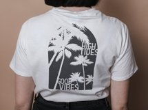High tides good vibes SVG, Summer and beach tshirt design Product Image 3