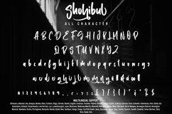 Shohibul - Brush Font Product Image 4