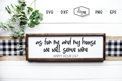 As For Me And My House We Will Serve Wine Product Image 1