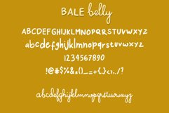 Bale Belly Cute Handwritten Font Duo Product Image 5