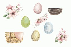 Easter bunny png clipart, watercolor cute rabbit sublimation Product Image 3