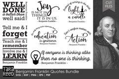 Benjamin Franklin Quotes Bundle Product Image 1