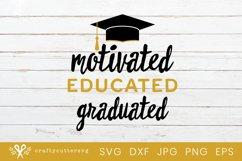 Graduated Svg Cut File| Graduation Cricut File Product Image 2
