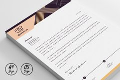 Letterhead Pad Template Word Apple Pages Product Image 2